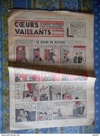 COEURS VAILLANTS 1936 N° 24 LE RAYON DU MYSTERE TINTIN ET MILOU En EXTREME ORIENT HERGE - Tintin
