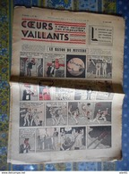 COEURS VAILLANTS 1936 N° 25 LE RAYON DU MYSTERE TINTIN ET MILOU En EXTREME ORIENT HERGE - Tintin