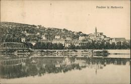 Postcard Metković Pozdrav Iz Metkovića Fluss & Brücke 1910 - Kroatië