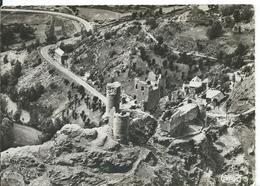 LE BLEYMARD  ( LOZÈRE )   CHÂTEAU DE TOURNE . VUE AÉRIENNE - Le Bleymard