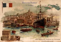 Biscuits Pernot Les Grands Ports Du Monde MARSEILLE - Pernot