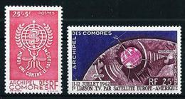Comores (Francés) Nº 25 Y A-7 Nuevo Cat.10,50€ - Nuevos
