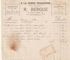 61 - La Ferte Mace -  A La Bonne Chaussure - R. Bergue - 25 Place Du Marché - Altri