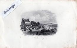 Gravure - JERSEY -  PONTAC,  JERSEY  - Reproduction  D'une Gravure De 1855 - Diplomas Y Calificaciones Escolares