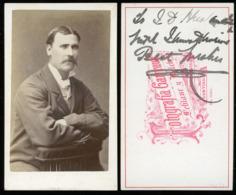 CDV - Portrait Gent - Valparaiso, Chile SOUTH AMERICA - Alte (vor 1900)