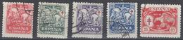 España U 0993/997 (o) Tubersulosos 1945 - 1931-50 Gebraucht
