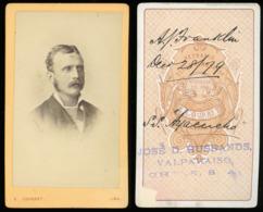 CDV - Portrait Gent - Lima, Peru SOUTH AMERICA - Antiche (ante 1900)