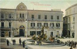 SIRACUSA - Piazza Archimede Con Fontana. - Siracusa