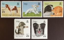 Falkland Islands 1994 Hong Kong Pets Animals MNH - Briefmarken