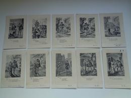 "Beau Lot De 10 Cartes Postales De Fantaisie  "" Faust ""    Mooi Lot 10 Postkaarten Van Fantasie   -  10 Scans - Postkaarten"