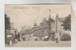 CPA AUBIGNY SUR NERE (Cher) - Rue Des Dames - Aubigny Sur Nere