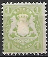 BAVIERE    -    1875 .   Y&T N° 31 * - Bayern (Baviera)