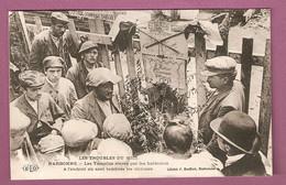 Cpa Narbonne Les Troubles Du Midi - Les Tumulus élevés Par Les Habitants à L'endoir Où Sont Tombées Les Victimes - ELD - Narbonne