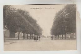 CPA AUBIGNY SUR NERE (Cher) - Route De Bourges - Aubigny Sur Nere