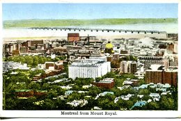 Montreal From Mount Royal  1927  (007632) - Montreal