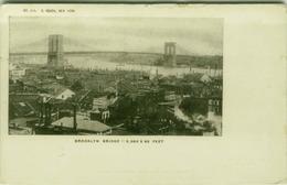 NEW YORK - BROOKLYN BRIDGE - BY E. REACH N.314 - 1900s (BG6469) - Brooklyn