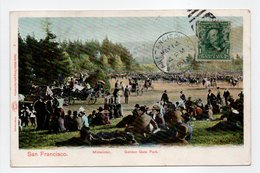 - CPA SAN FRANCISCO (Etats-Unis) - Midwinter 1904 - Golden Gate Park - Photo Charles Weidner N° 4 - - San Francisco