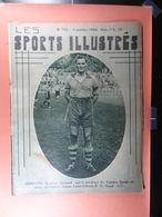 Les Sports Illustrés 1934 N°703 Charlier Palais Des Sports De Bruxelles Salon Auto Paris Union Daring Piccard Verschuere - Sport
