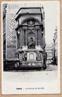 X75385 PARIS 1er Place MIREILLE La Statue De MOLIERE Publicité Bière DUMESNIL 30 Rue DAREAU 1900s - Arrondissement: 01