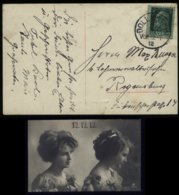 S6090 - Bayern Frauen Datum Postkarte 12.12.12: Gebraucht Dollnstein - Regensburg 1912 ,Bedarfserhaltung. - Germany