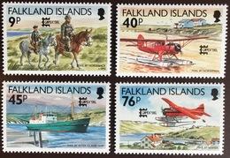 Falkland Islands 1996 Capex Aircraft Ships MNH - Falkland Islands