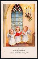 5751 - Hannes Petersen Glückwunschkarte Weihnachten - Engel Angel - FAKH - Zonder Classificatie