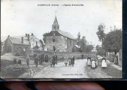 AISONVILLE BERNOVILLE CP  PHOTO EGLISE - Frankreich