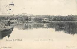 CPA 55 Meuse Domaine De Montmeuse - Barrage - Environs De St Saint Mihiel - Pecheur - Francia