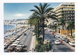 06 Nice N°8 495 Promenade Des Anglais VOIR ZOOM Rolls Royce Ford Peugeot 404 Citroën Tube Coupé Mercedes - Voitures De Tourisme