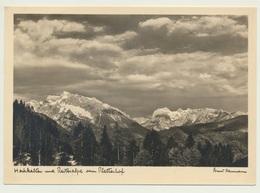 AK  Berchtesgaden Hochkalter Und Reiteralpe Vom Plattenhof - Berchtesgaden