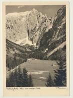 AK  Berchtesgaden Scharitzkehl Alm Mit Hohem Göll - Berchtesgaden