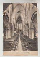 CPSM AUBIGNY SUR NERE (Cher) - Intérieur De L'Eglise - Aubigny Sur Nere