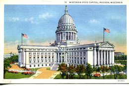 Wisconsin State Capitol, Madison  (007643) - Madison