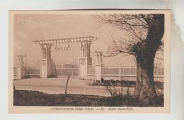 CPSM AUBIGNY SUR NERE (Cher) - Le Stade Saint Paul - Aubigny Sur Nere