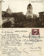 Romania, IAȘI YASSY, Biserica Sfântul Spiridon (1932) RPPC Postcard - Roumanie