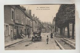 CPA AUBIGNY SUR NERE (Cher) - La Rue De Cambournace - Aubigny Sur Nere