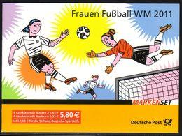84 MH Sporthilfe Fußball-WM Der Frauen 2011, Postfrisch - BRD