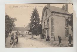 CPSM NOHANT EN GRACAY (Cher) - Un Coin Du Bourg - France