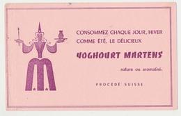 Buvard 20.7 X 13 Yoghourt MARTENS  Fée - Leche