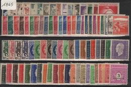FR-C45 - FRANCE Année Complète Neuve** 1er Choix 1945 Côte 82 € - 1940-1949