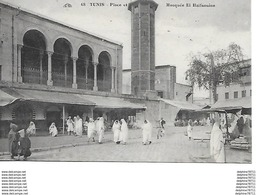 Tunis - Place Et Mosquée El Halfaouine - Tunisia