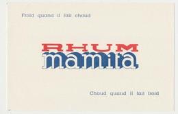 Buvard 20.8 X 13.4 Rhum MAMITA - Liqueur & Bière