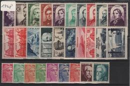FR-C48 - FRANCE Année Complète Neuve** 1er Choix 1948 Côte 62 € - 1940-1949