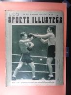 Les Sports Illustrés 1934 N°707 Boxe Van Hauwaert Bruxelles Anvers Gand Diables Rouges Football Union-Daring - Sport