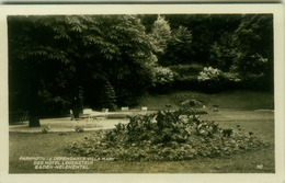 AK AUSTRIA - WIEN - PARK MOTIV I.d. DEPENDANCE VILLA MARY DES HOTEL LEGENSTEIN BADEN HELENENTAL - 1940s (BG6482) - Vienna