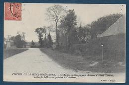 Circuit De La Seine Inférieure - St Martin En Campagne - Accident.................. - Andere Gemeenten
