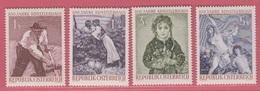 1961 ** (sans Charn., MNH, Postfrish)  Yv  927/30Mi  1087/90ANK 1129/32 - 1945-.... 2. Republik