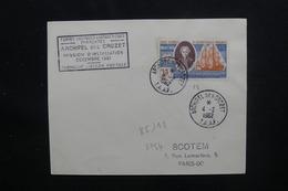 T.A.A.F. - Enveloppe De La Mission D'Installation En 1961 Pour Paris, Affranchissement Et Cachets Plaisants - L 48566 - Cartas
