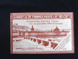 France 1924 : Carnet Ancien N°199 -Type Semeuse Lignée C2 - 1903-60 Sower - Ligned