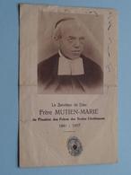 Frère MUTIEN-MARIE Le Serviteur De Dieu ( RELIKWIE - RELIQUIARIO - RELIC - RELIQUARY - RELIQUAIRE ) ( Beschreven ) ! - Godsdienst & Esoterisme